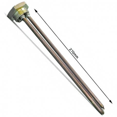Resistencia Termo Electrico Vaina Cobre Rosca 1 1/4 3000w 220v Standard