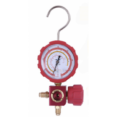 Manometro Analizador 1 Via Baja Visor 80mm R417A, R422D, R422A Analogico