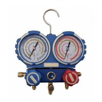 Manometro Analizador 1 Via Con Visor 68mm Baja R410A R407C, R404A, R134A
