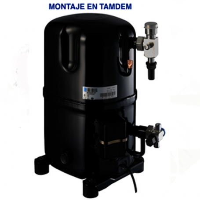 Compresor Embraco Cj4476Y R134 Media Temperatura Motor 2175cc 220/240v