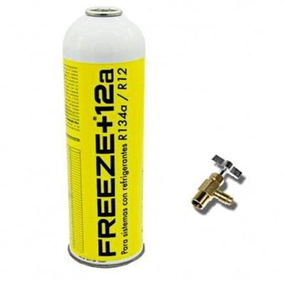 Manometro Aluminio 2 Vias Anticolision 80mm Con Visor R410 R407c R404 R134